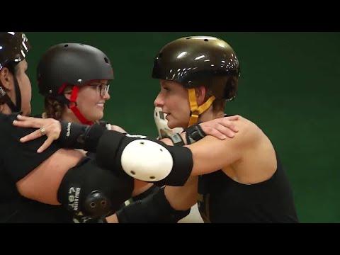 Eden and the Jacksonville Roller Derby Girls