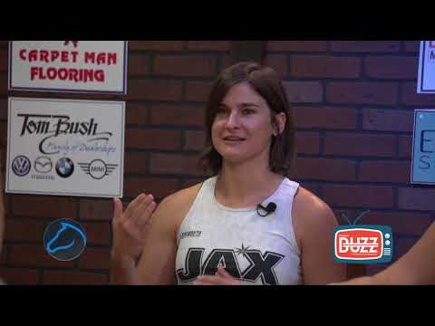 "Buzz Tv - ""Up Close and Personal"" with Keri Lewis, Jennifer Gaskins, Jacksonville Roller Derby"