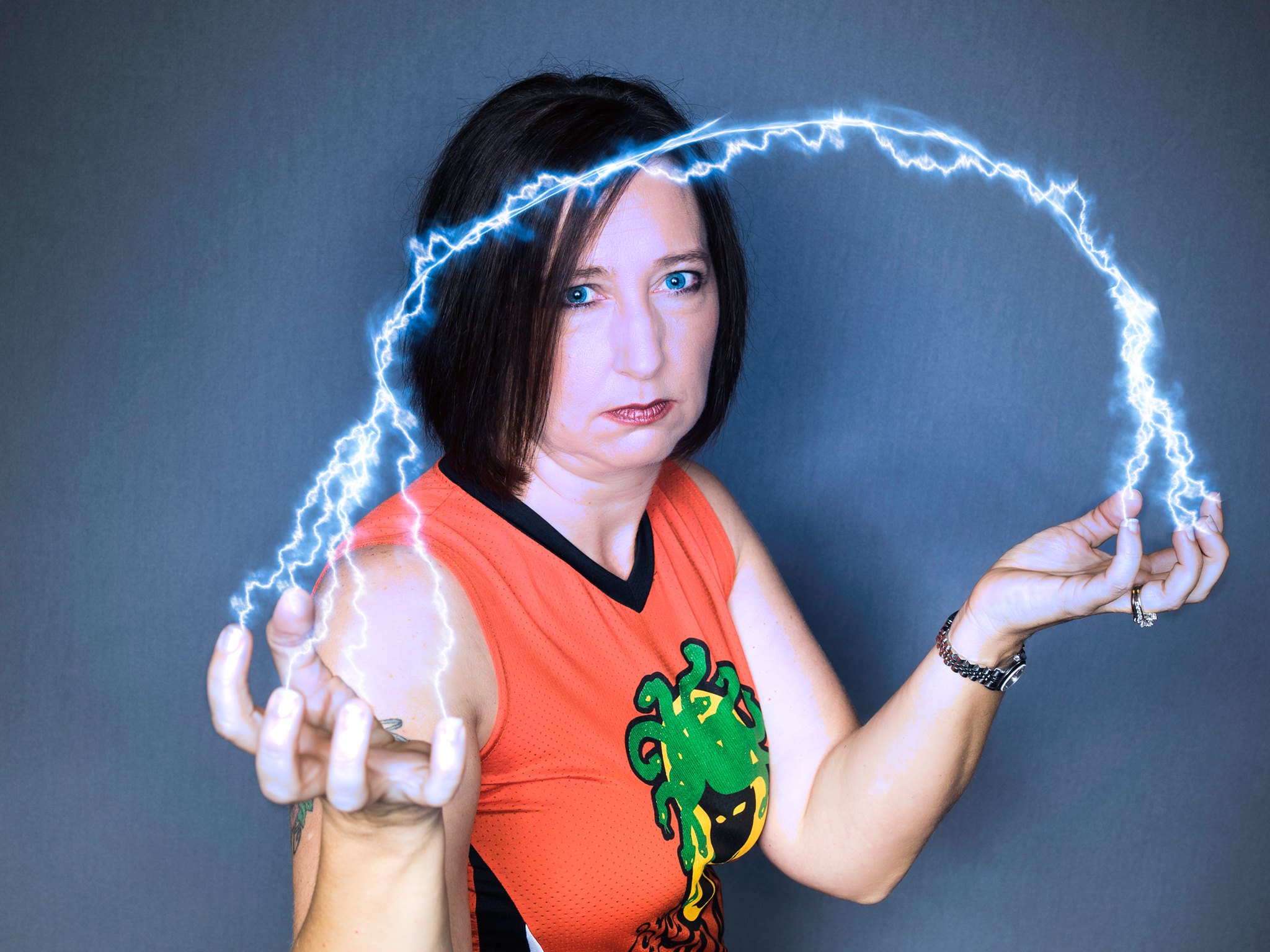 "Volunteer of the Month: Rena ""ElectroShockHer"""